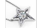 Charles&Colvard moissanite necklace
