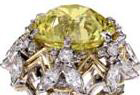 yellow diamond ring sothebys