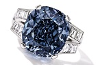 Shirley Temple blue diamond Sotheby's