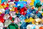 Colored Gemstones Icon