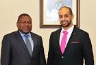 Ahmed Bin Sulayem and President Filipe Nyusi of Mo