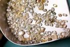 De Beers Namibian rough diamonds