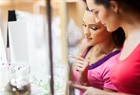 Women self-buying jewelry