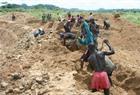 Sierra Leone artisanal miners.