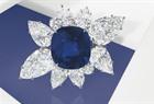 Christies 43 carat Sapphire
