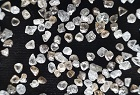 De Beers rough diamonds at office in Calgary Canad