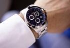 Longines watch on man's wrist