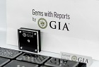 GIA-graded diamonds