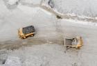 Trucks at Alrosa's Verkhne-Munskoye mine