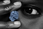 Letlapa rough blue diamonds