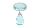 Bonhams aquamarine brooch 140