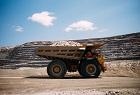De Beers haul truck transporting kimberlite at Ven