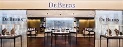 De Beers Jewellery store