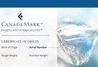 CanadaMark Certificate
