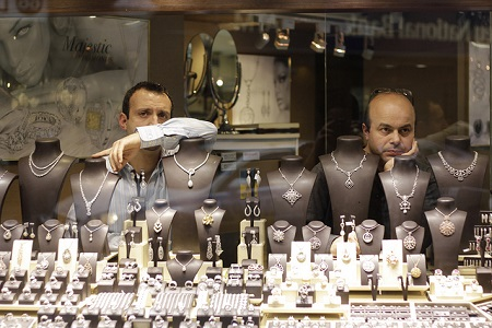 Jewelry store depressed
