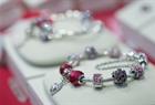 Pandora bracelet and charms 150